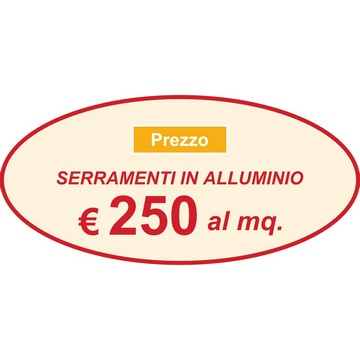Persiane alluminio prezzo al metro quadro for Costo finestre pvc